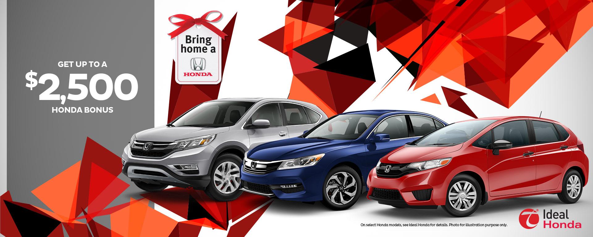 Honda Bonus
