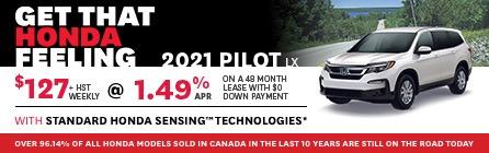 IdealHonda-JuneHP-IPBanners-HP-2021 Pilot LX
