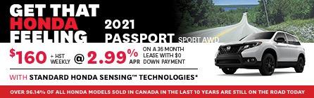 IdealHonda-JuneHP-IPBanners-HP-2021 Passport Sport AWD