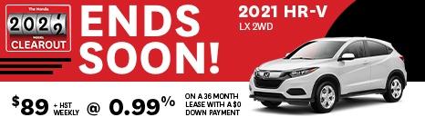 2021 HR-V LX 2WD